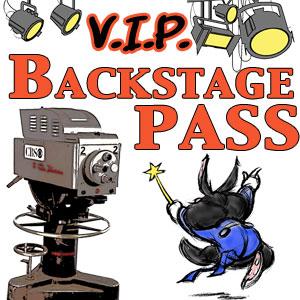 VIP Backstage Pass Membership access to the Allakazam Archives, The Magic Land of Allakazam
