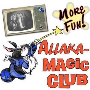 Magic Club level membership to the Allakazam Archives, The Magic Land of Allakazam
