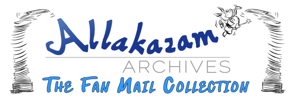 Allaka-Fan Mail Library Link