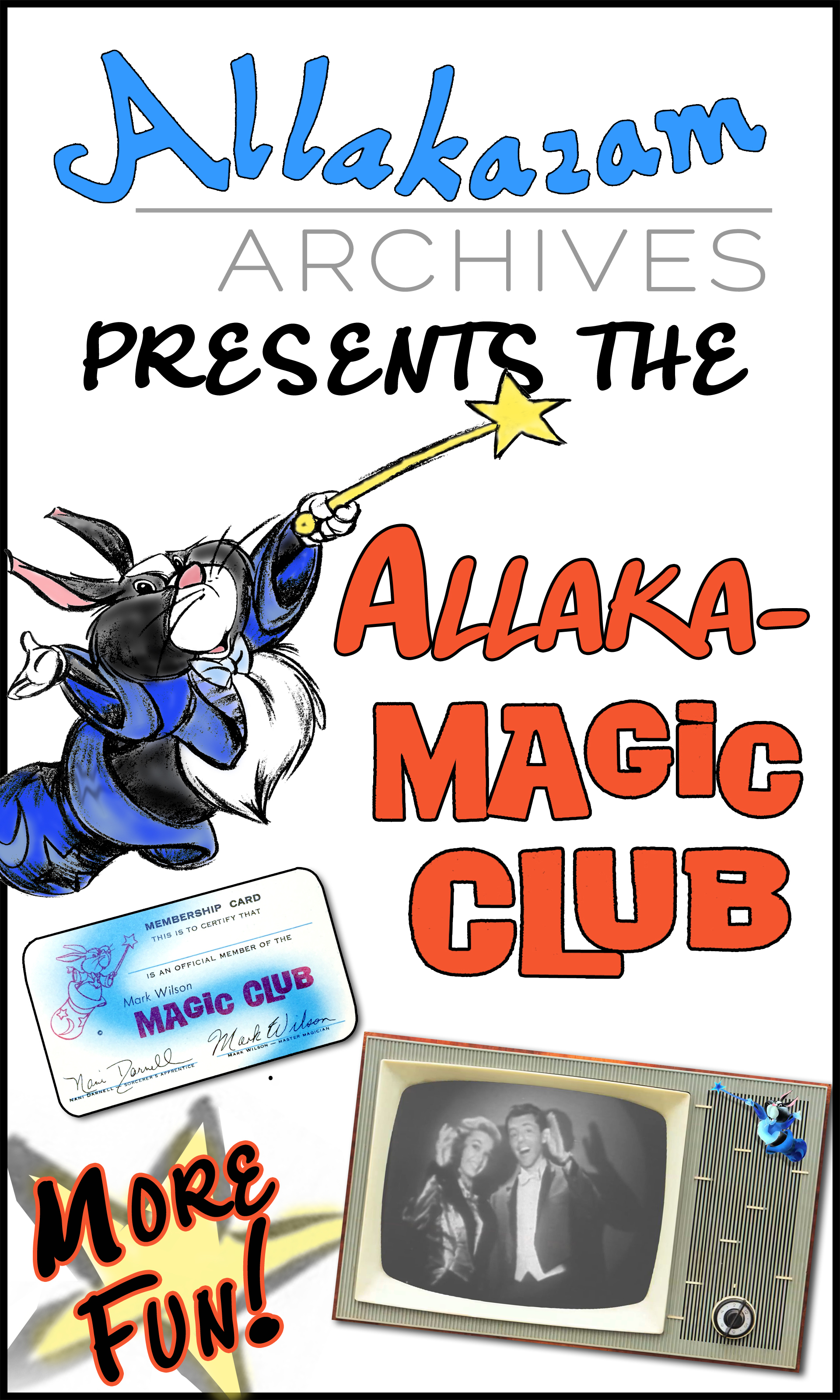 Join the Magic Club and support the efforts of the Archives